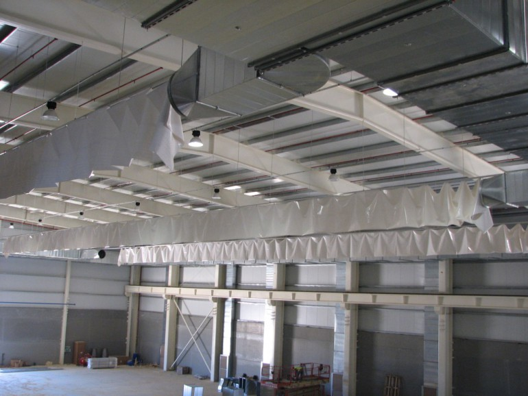 Textile ducts